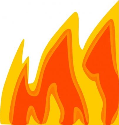 Flames clipart blaze Graphic Flame Clip  Art