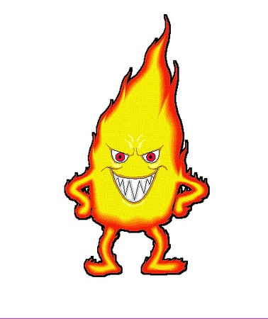 Flames clipart cartoon Pix Cartoon  Flames Art