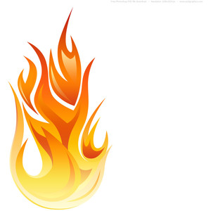 Flames clipart cartoon Flames Fire Safety Free Flames