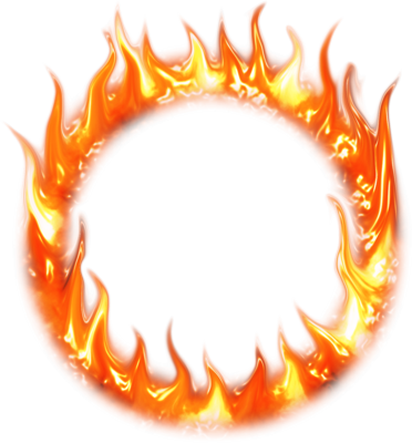 Flames clipart circus ring BecomeAnEX the of burns