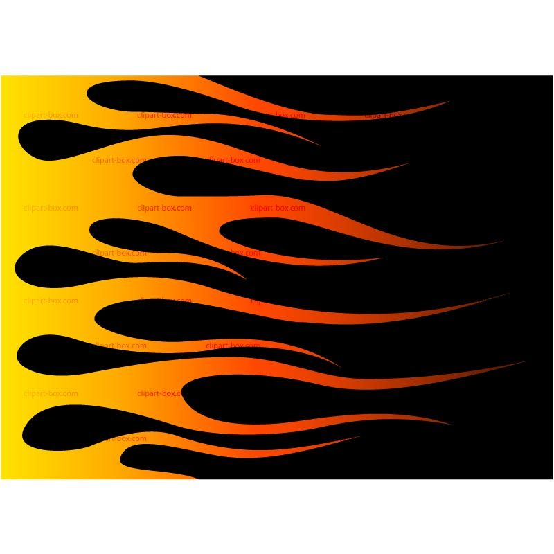 Hot Wheels clipart motorcycle flames Flames of flames Clipart Concept