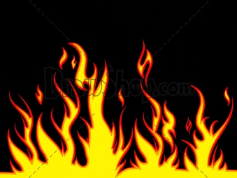Flames clipart comic Fire Free Flames Cartoon Royalty