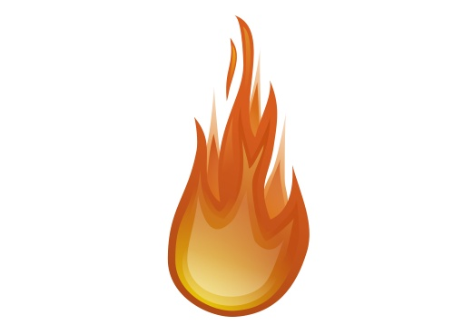 Flames clipart comic Clip Cartoon To Images Fire