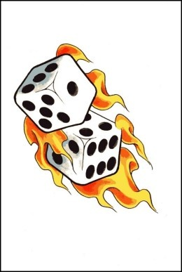 Dice clipart flames Dice/ dice/ images and on
