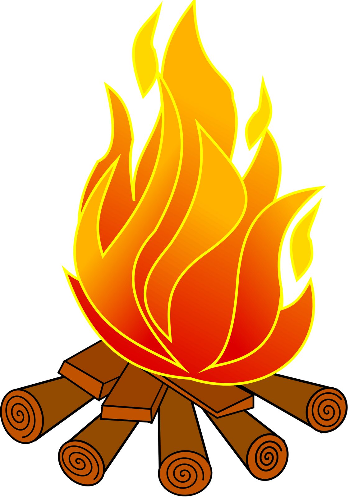 Fireplace clipart hearth 2 images com flame free