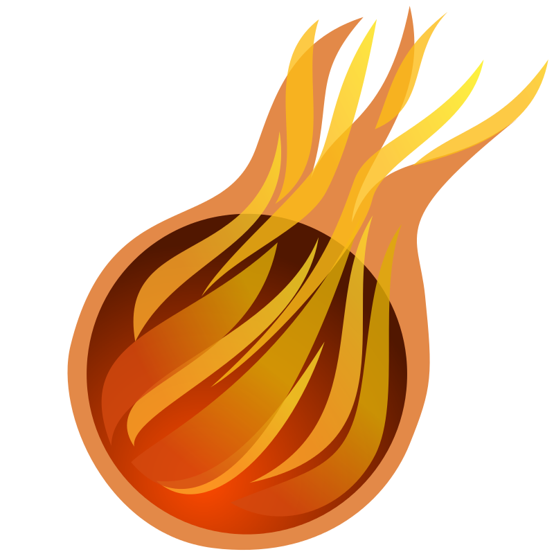 Flames clipart fireball Free Vector  Ball and