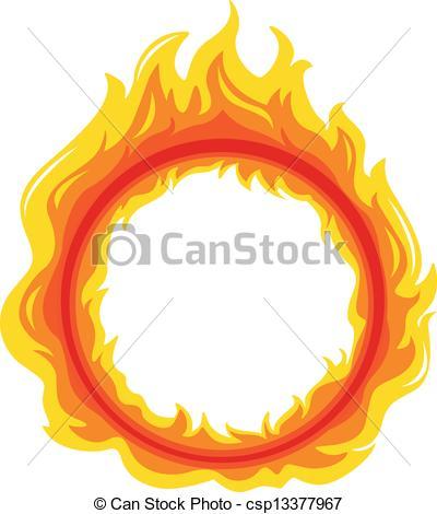 Flames clipart fireball Vector of a Art on