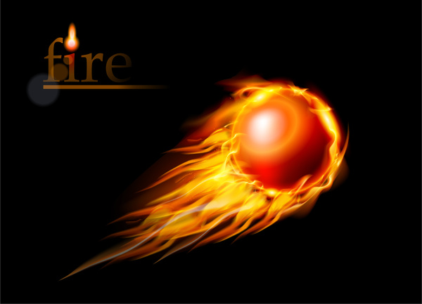 Heat clipart free fire Fly Fire vector  ball
