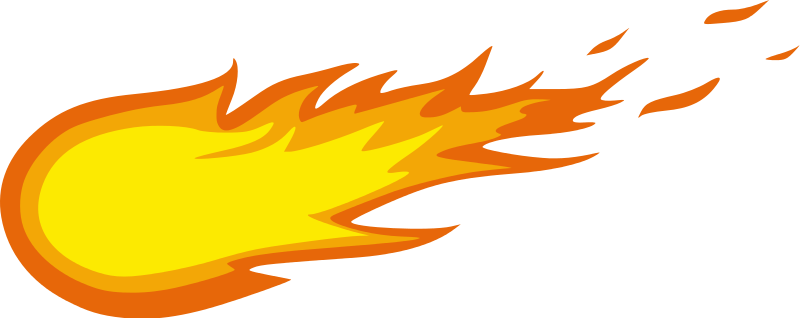 Flames clipart fireball To Use clip for art