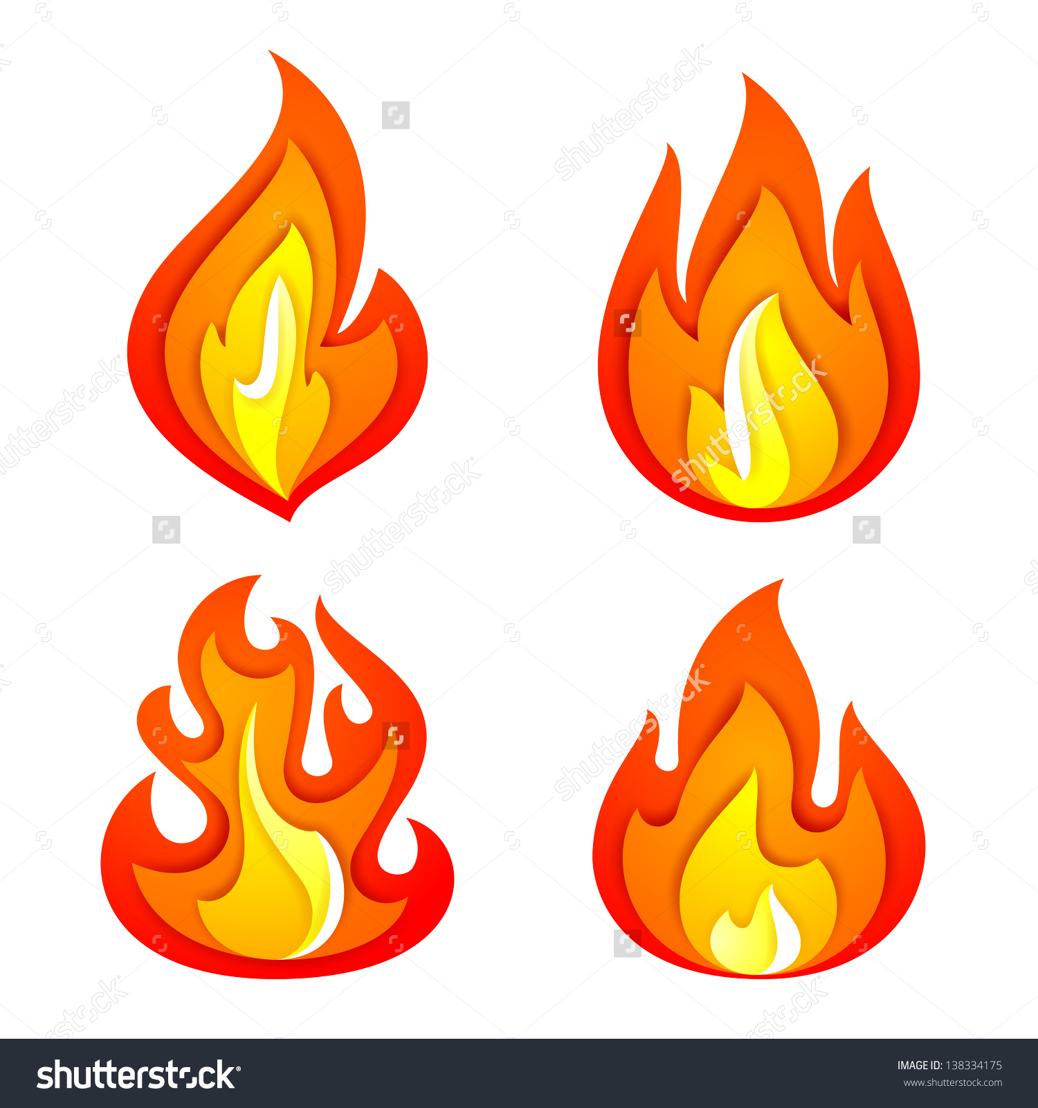 Flames clipart fireplace fire Fire clipart Clipart Pie Realistic