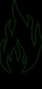 Flames clipart flame outline White White Clip Art clip