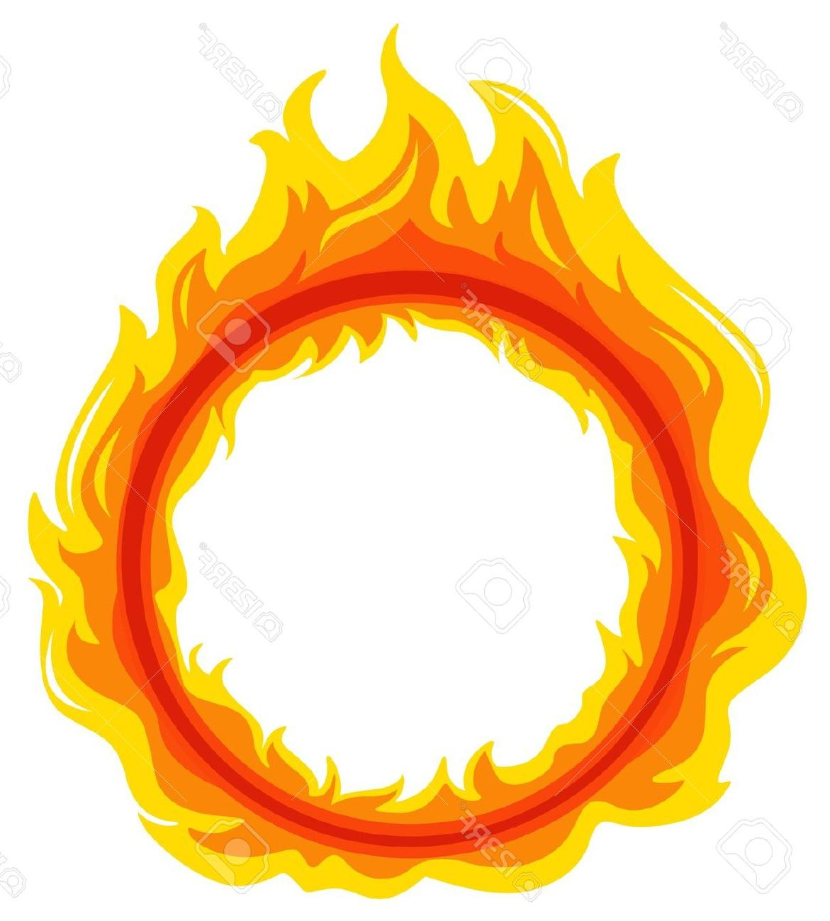 Flames clipart flame outline Fire Free  Of Library