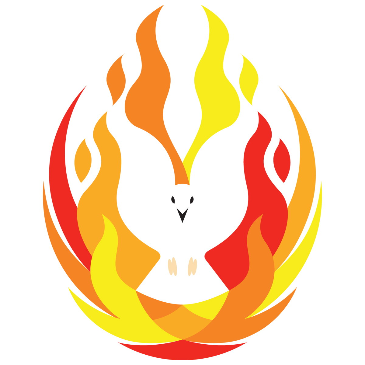 Flames clipart holy ghost fire Logo Clip Holy fire Clipart