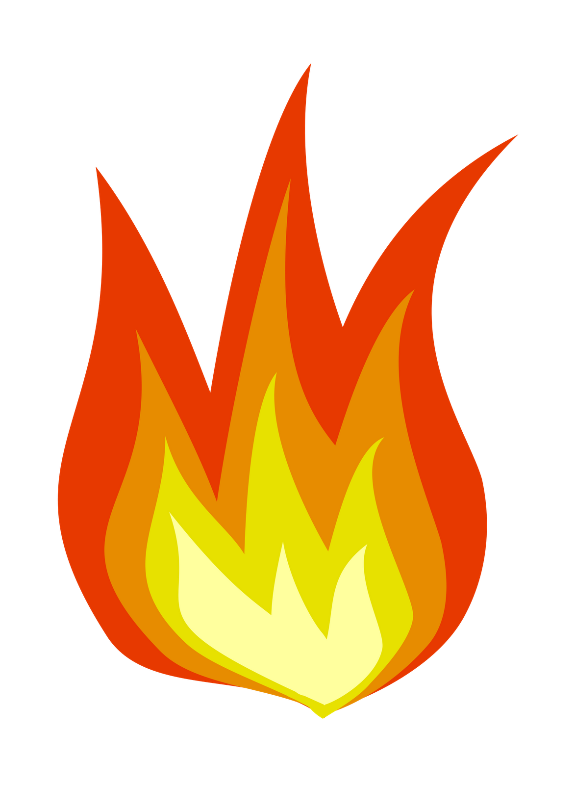 Flames clipart holy ghost fire Of is prayer today Fire