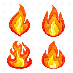 Flames clipart hot wheel Flame Pack Search  Simple