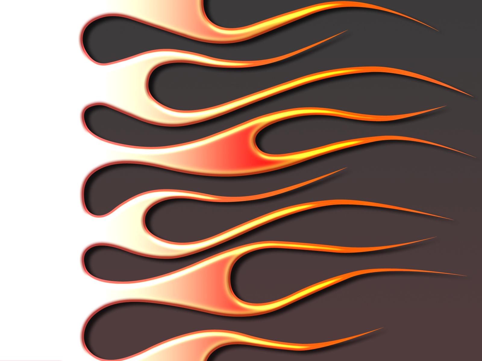 Hot Wheels clipart motorcycle flames Flames  Single line Hot