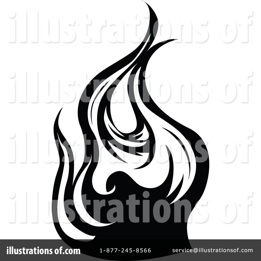 Flames clipart line flames Clipart by Illustration Flames Free