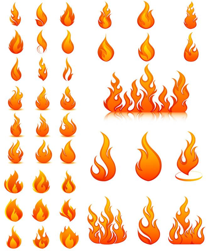 Flames clipart little Templates 25+ flame Pinterest and