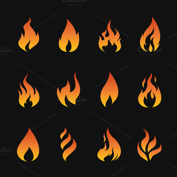 Flames clipart little Yod67 yod67 Vector  on