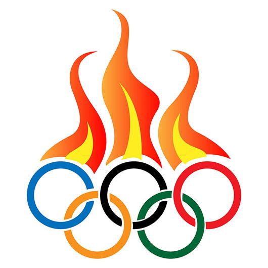 Drawn torch olympics Art Logos Designs Free Clipart