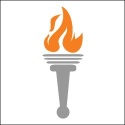 Flames clipart olympic torch Athletic Olympic Pinterest Olympic Flame