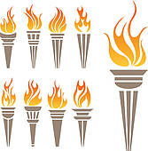 Flames clipart olympic torch Free Flame GoGraph burning Clip