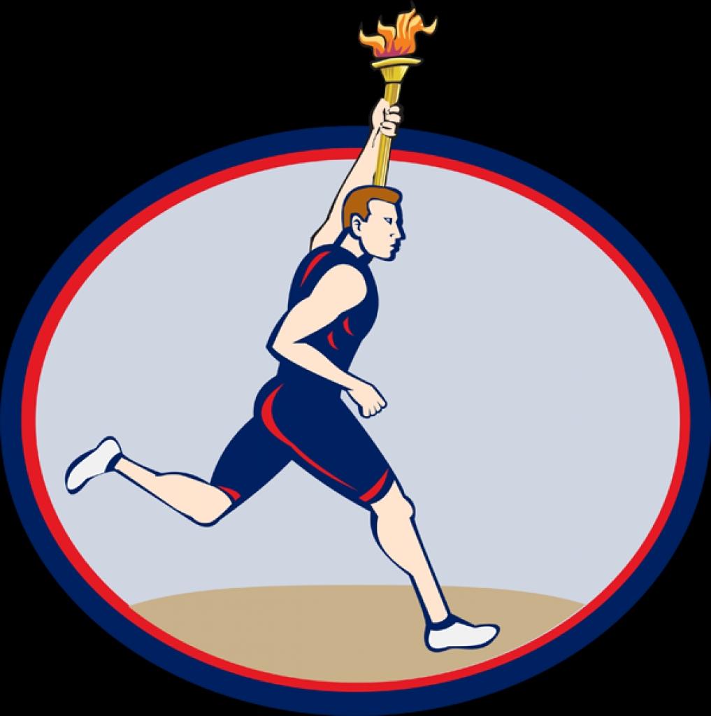 Flames clipart olympic torch Clip clipart art art