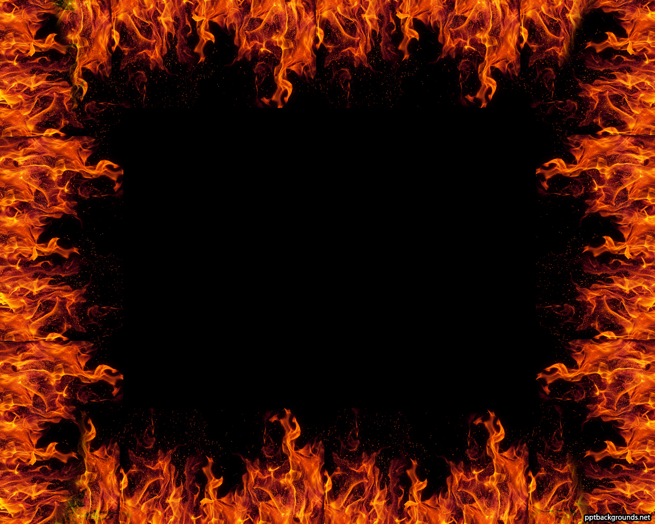 Flames clipart powerpoint With with Border Flames