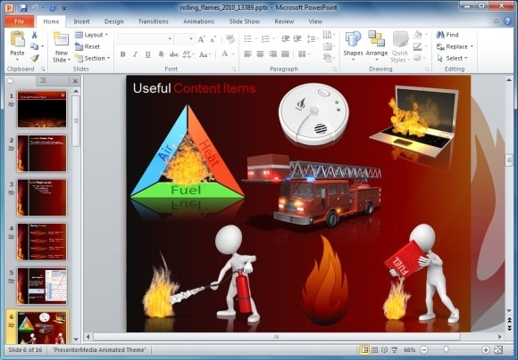 Flames clipart powerpoint And Clipart Flames Animated Flames