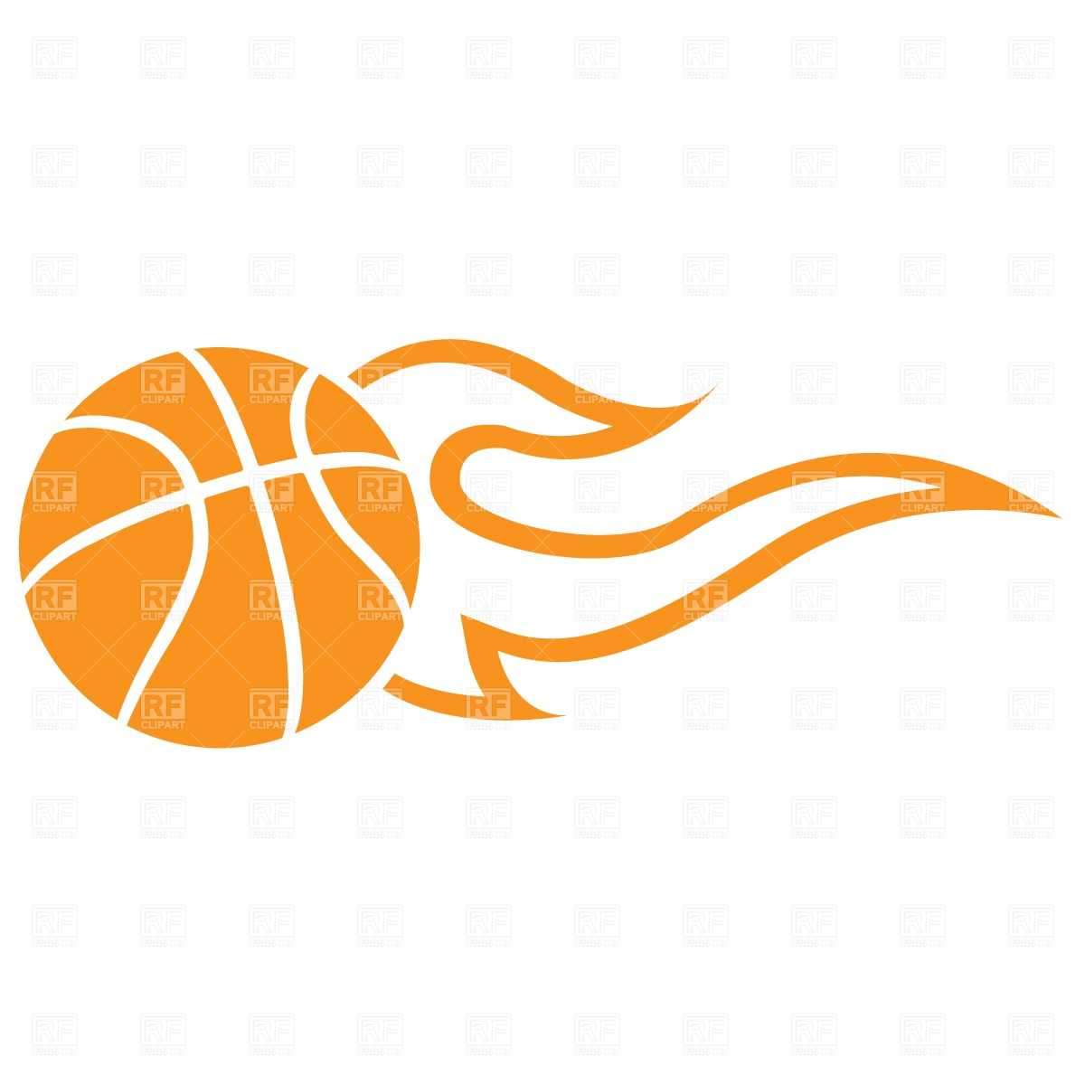 Flames clipart printable Basketball  Clipart Clipart with