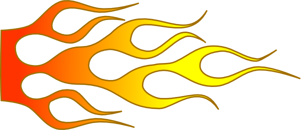 Flames clipart racing This  Download Clker clip