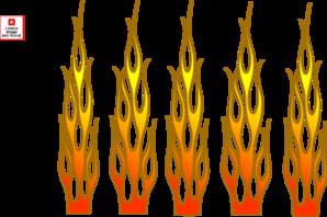 Flames clipart racing Flame  Racing Clker clip
