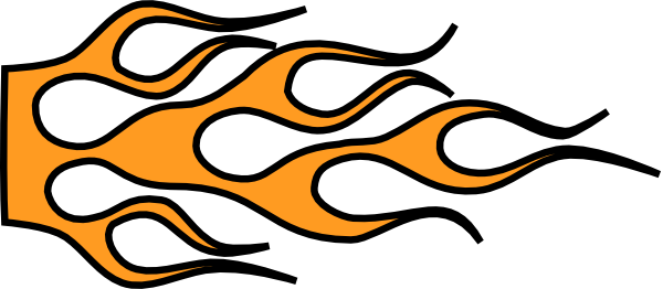 Flames clipart racing Flames free Racing racing with