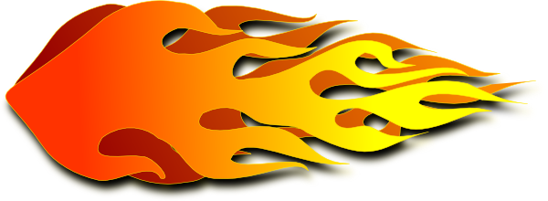 Flames clipart rocket Clip vector Flame at