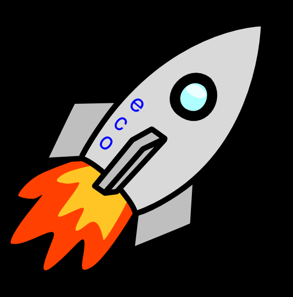 Flames clipart rocket Image Clker as: Rocket