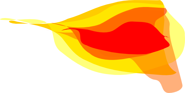Flames clipart rocket Image clip as: Fire