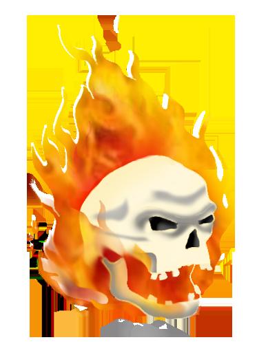 Flames clipart sideways Skull Cool clip Art Funny!)