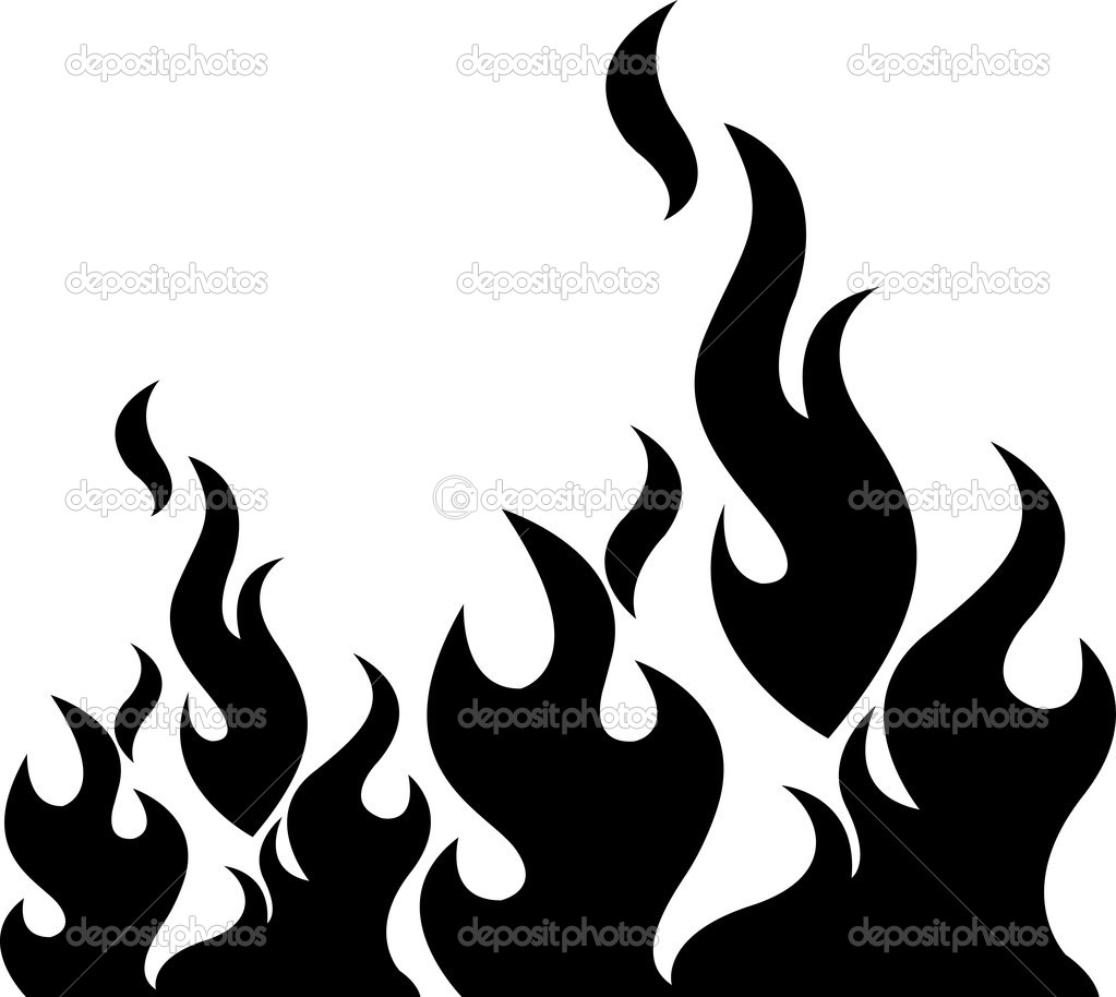 Flames clipart silhouette Clip #1 #74 flame Clipart