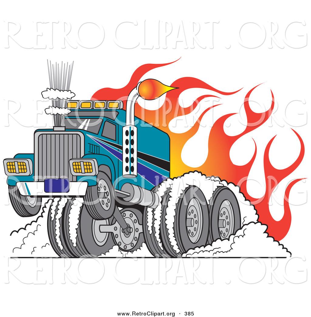 Flames clipart tire smoke Rod Big Big Rod of