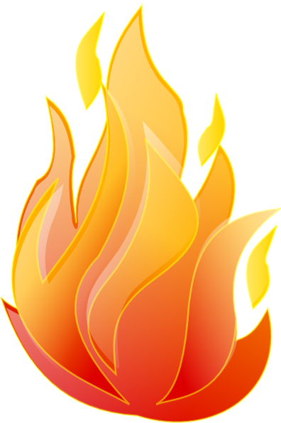 Moving clipart fire #10