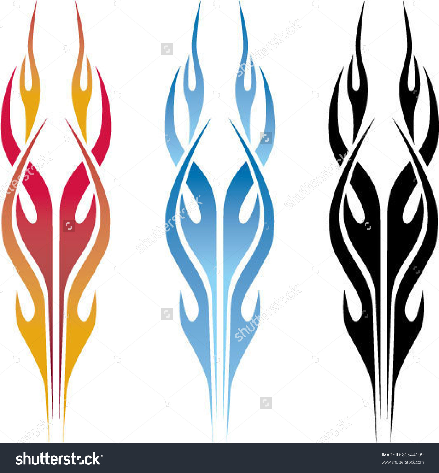 Flames clipart tribal Flames j Search letter clipart