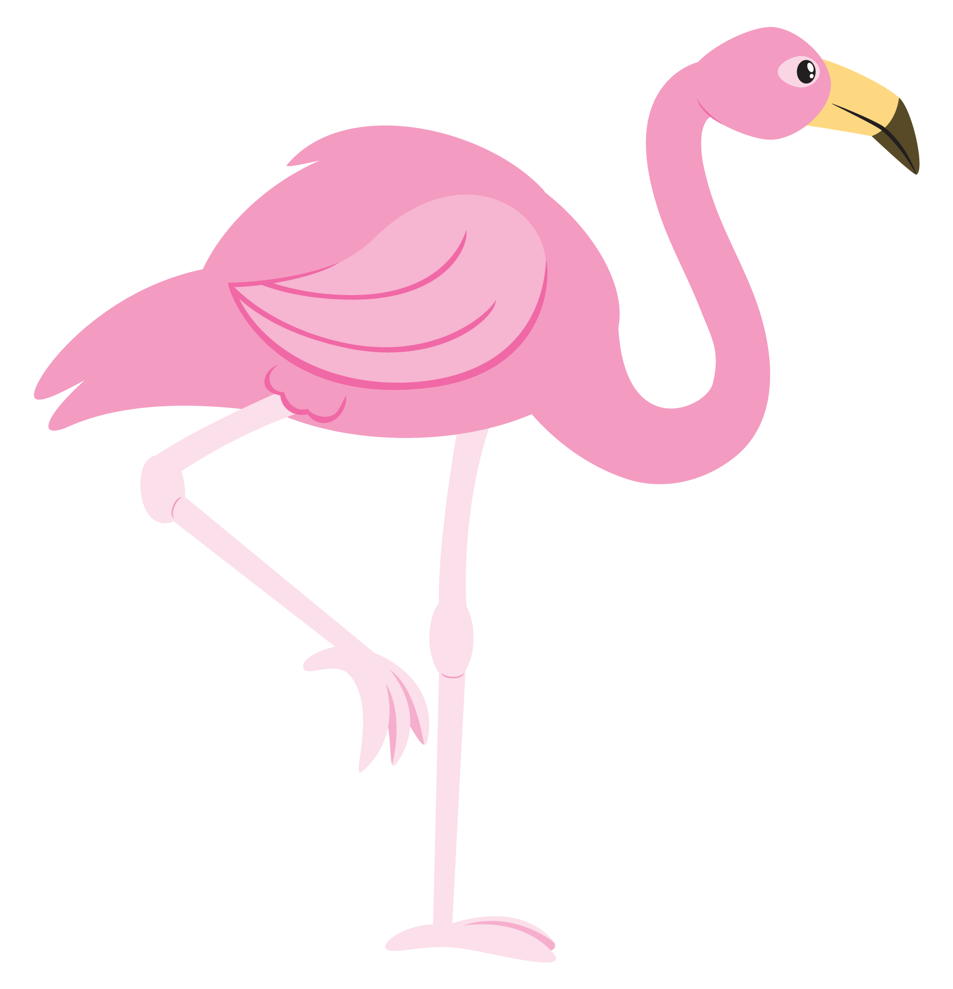 Flamingo clipart Public Free Use Domain Flamingo