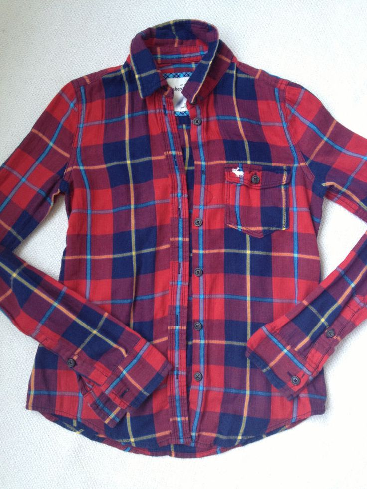 Flannel clipart abercrombie and fitch 14 best Plaid S Shirt