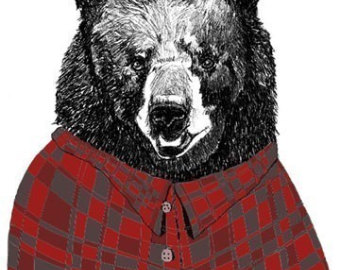 Flannel clipart flannel shirt Shirts Print Flannel Bears Flannel