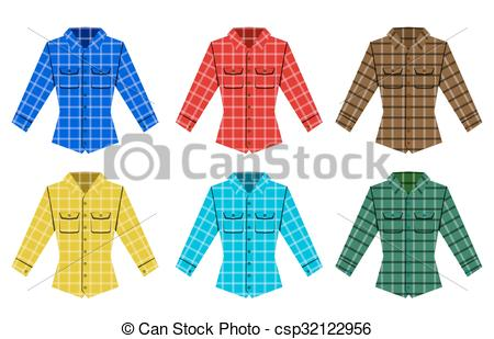 Flannel clipart flannel shirt 1 Clipart shirt check shirt