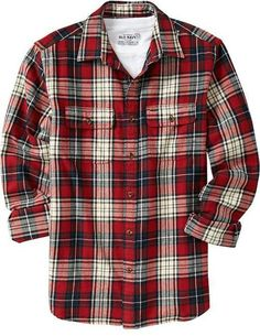 Flannel clipart mens red Red Shirt Men shirts Lined