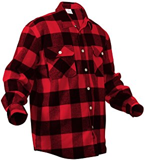 Flannel clipart mens red Plaid Heavy Weight Clothing Flannel