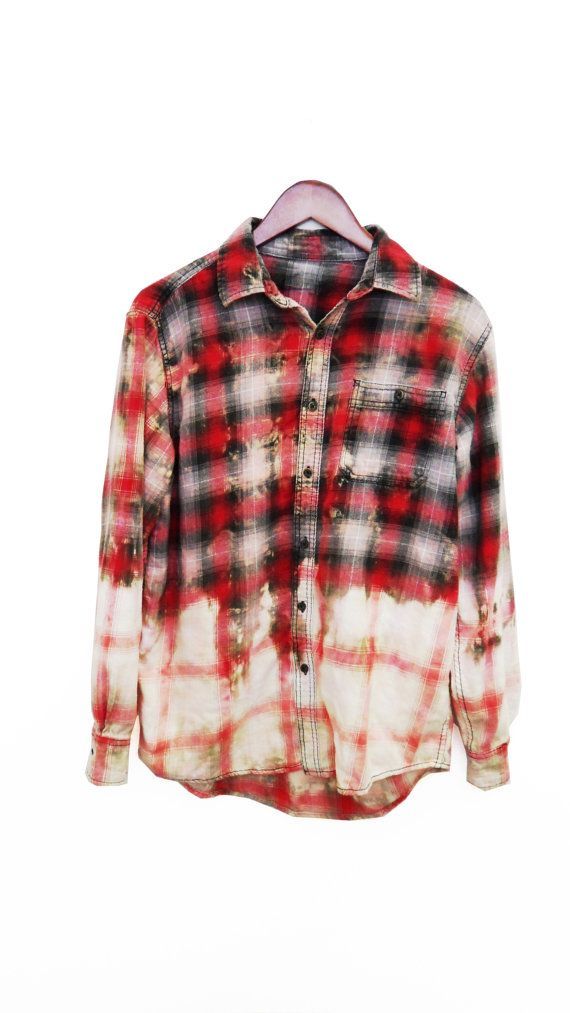 Flannel clipart mens red On men Shirt Refashioned Pinterest