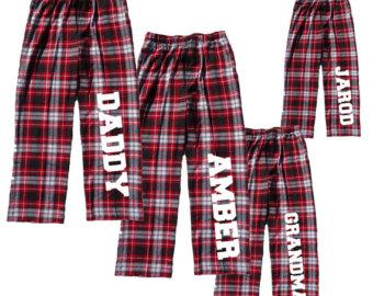 Flannel clipart pajama pants #10