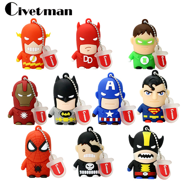 Flash clipart avenger Pendrive Best avenger/Superman/Batman/Spider Best Buy